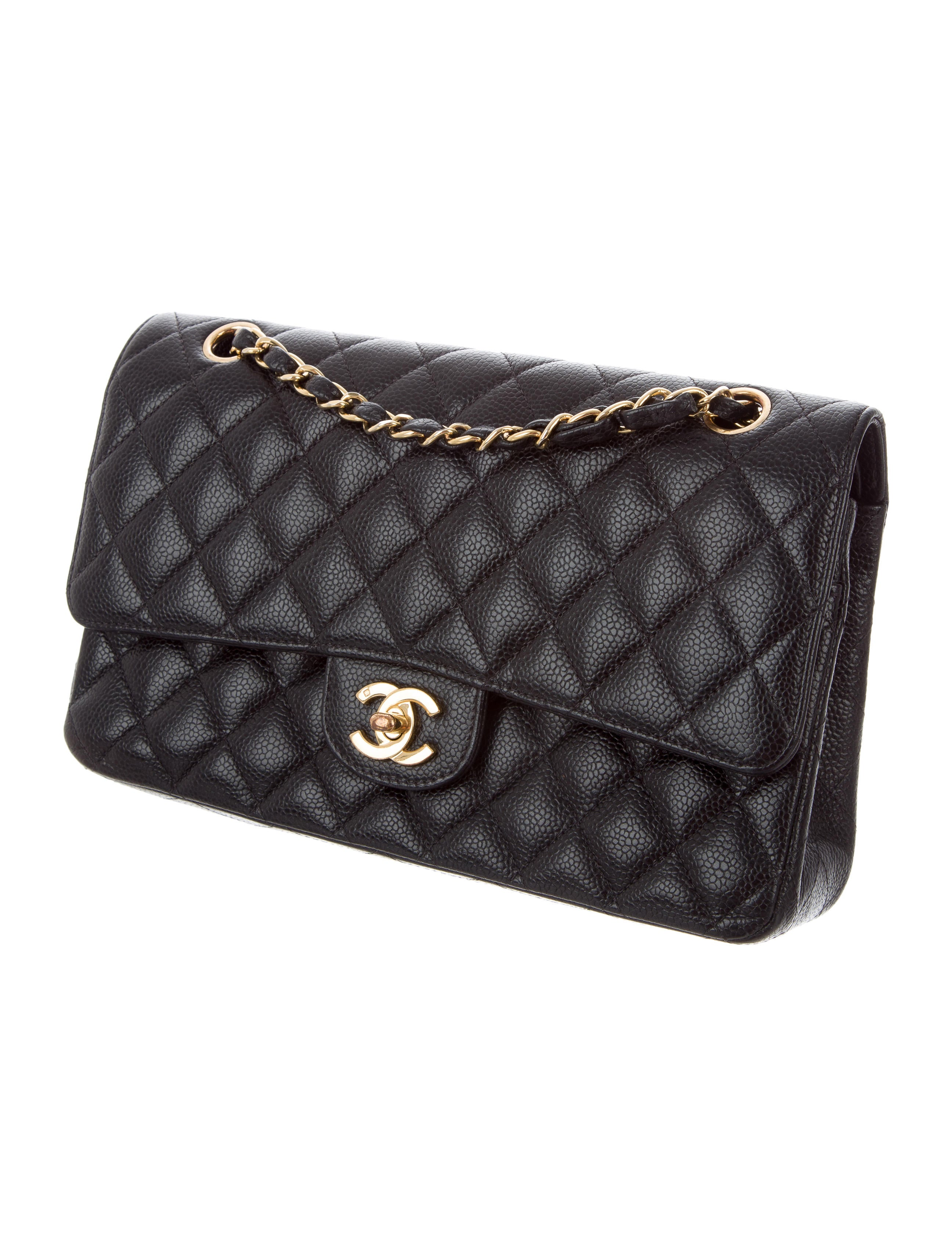 Enlarged Chanel Classic Medium Double Flap Bag Handbags