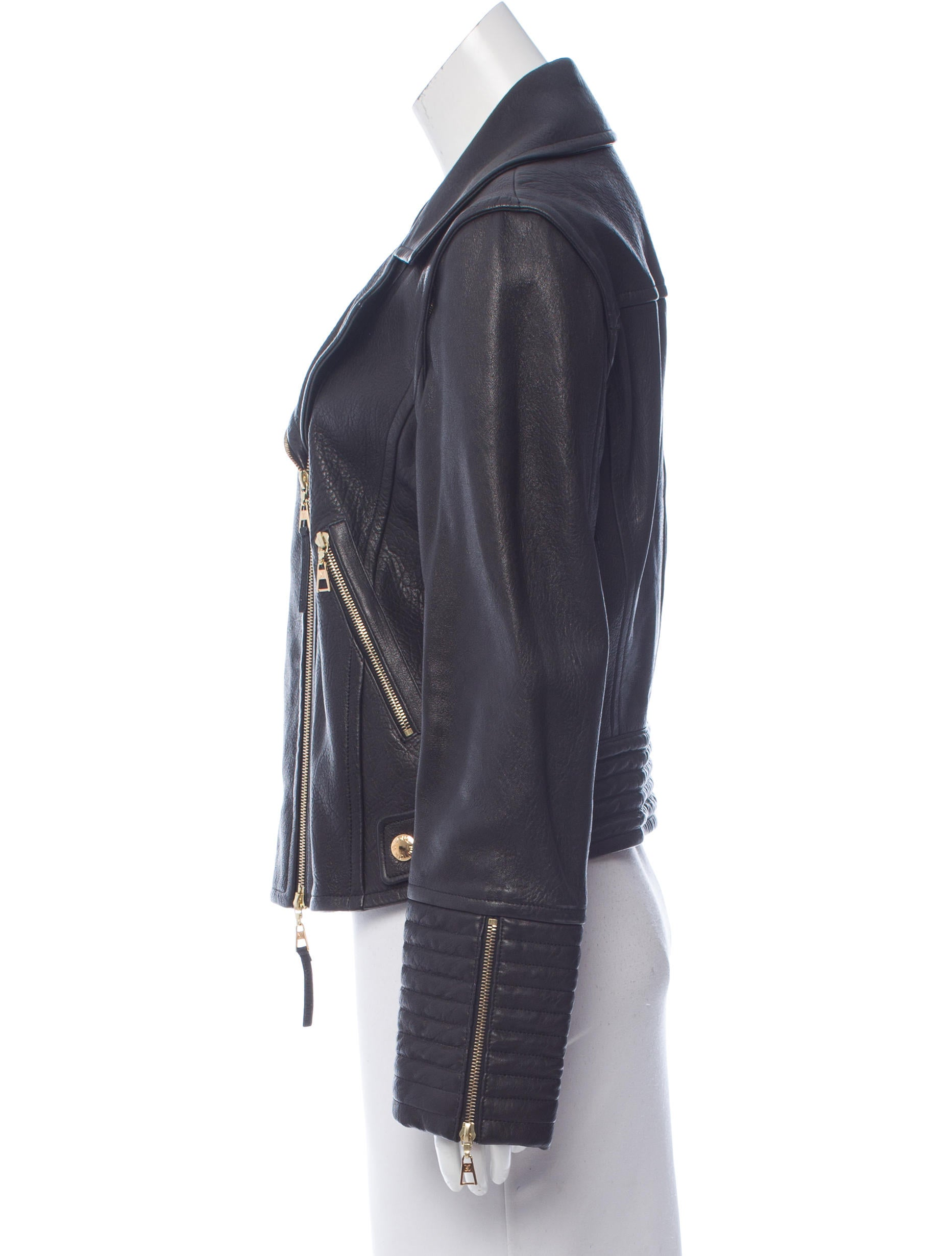 Louis vuitton leather jacket women