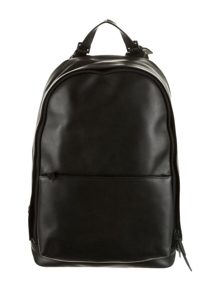 Black Leather Backpack For Men – TrendBackpack