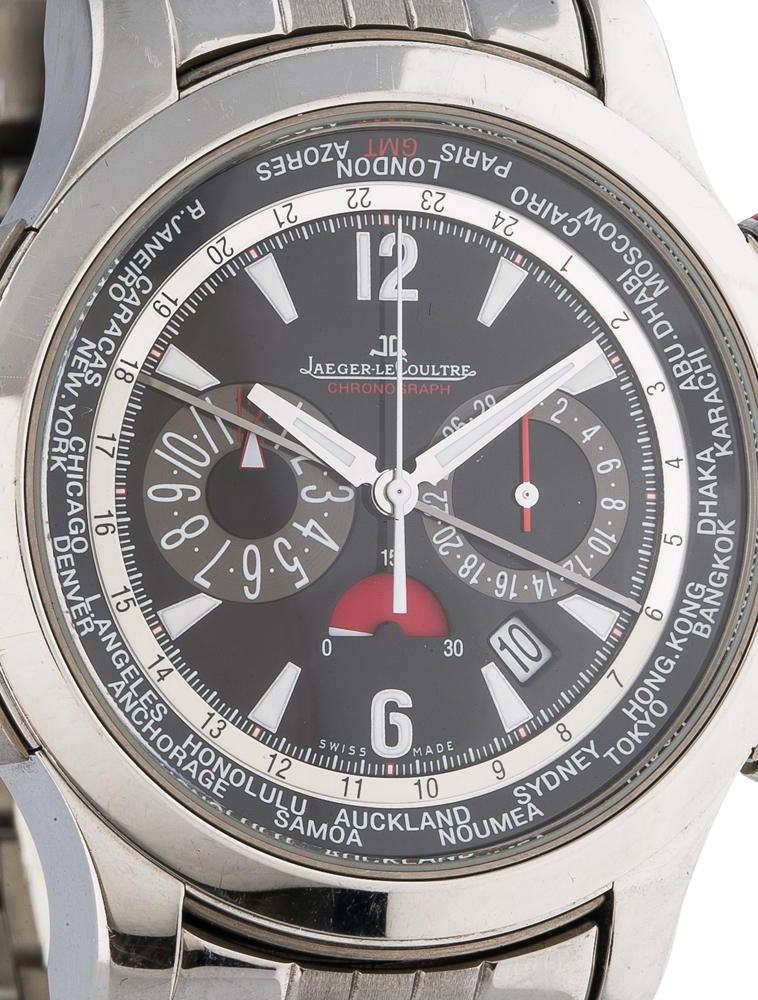 Jaeger lecoultre master compressor extreme world chronograph watch 150 0ae20004 the realreal for Chronograph master