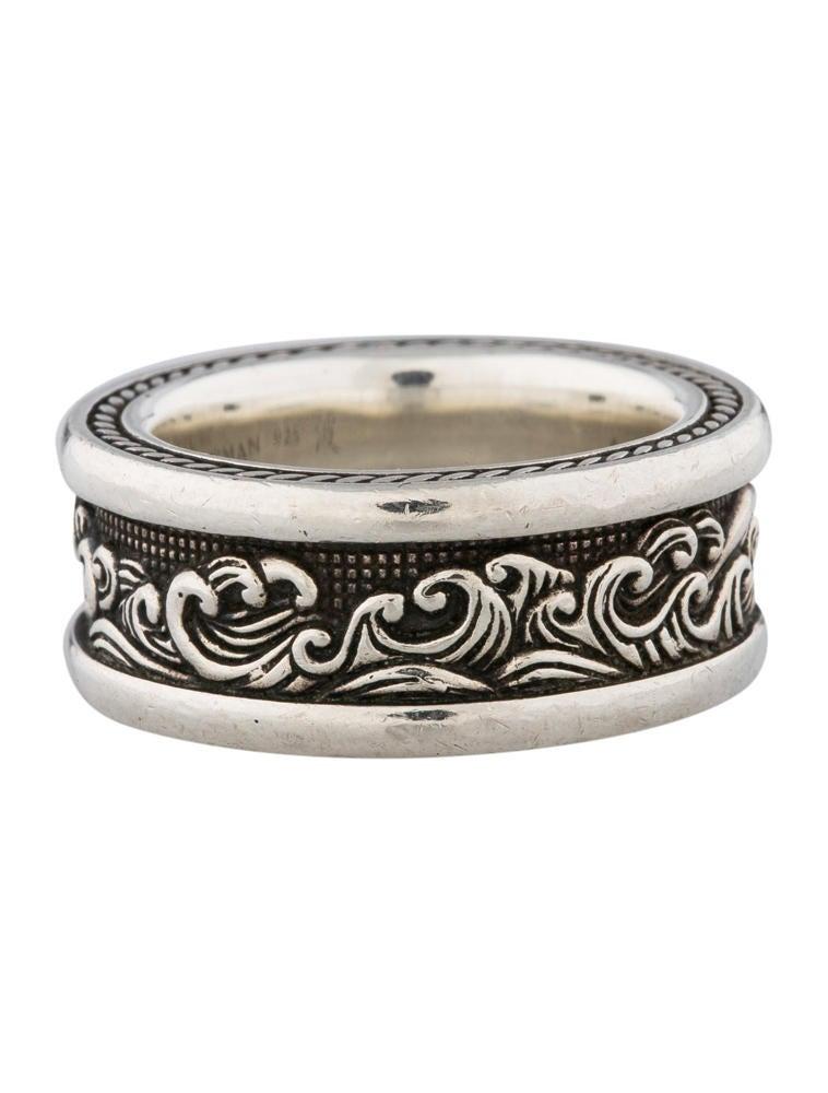 David yurman wave band ring rings 0dy20157 the realreal for David yurman inspired jewelry rings