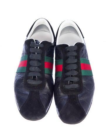 Embossed Sneakers