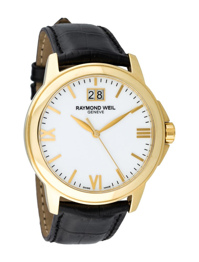 raymond weil tradition date watch 0ld20007 the realreal watches raymond weil tradition date watch tradition date watch