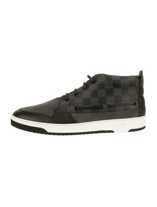 1ca572d49407 Louis Vuitton Damier Graphite Propeller High Tops - Shoes - 0LV20001 ...