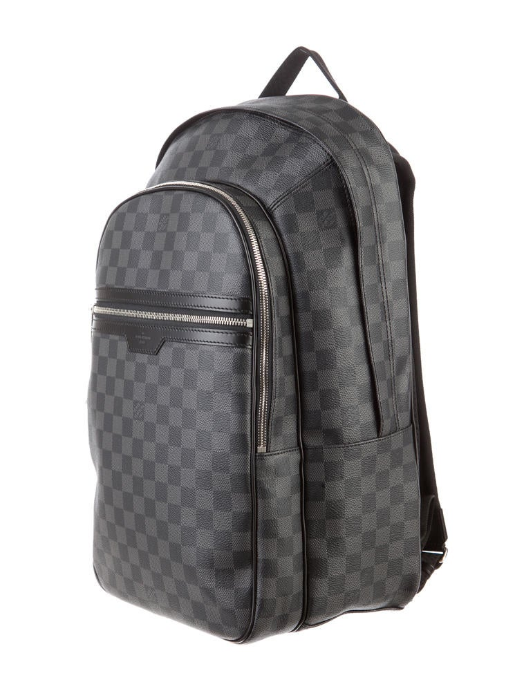 louis vuitton damier michael backpack bags 0lv20130. Black Bedroom Furniture Sets. Home Design Ideas
