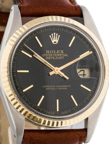 Two-Tone Datejust Watch