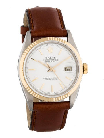 Two-Tone Datejust Watch 1600