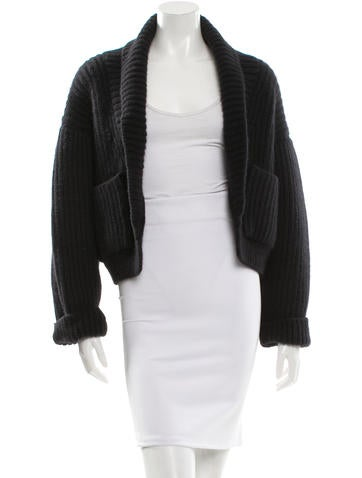 Protagonist Angora Ribbed Cardigan w/ Tags None