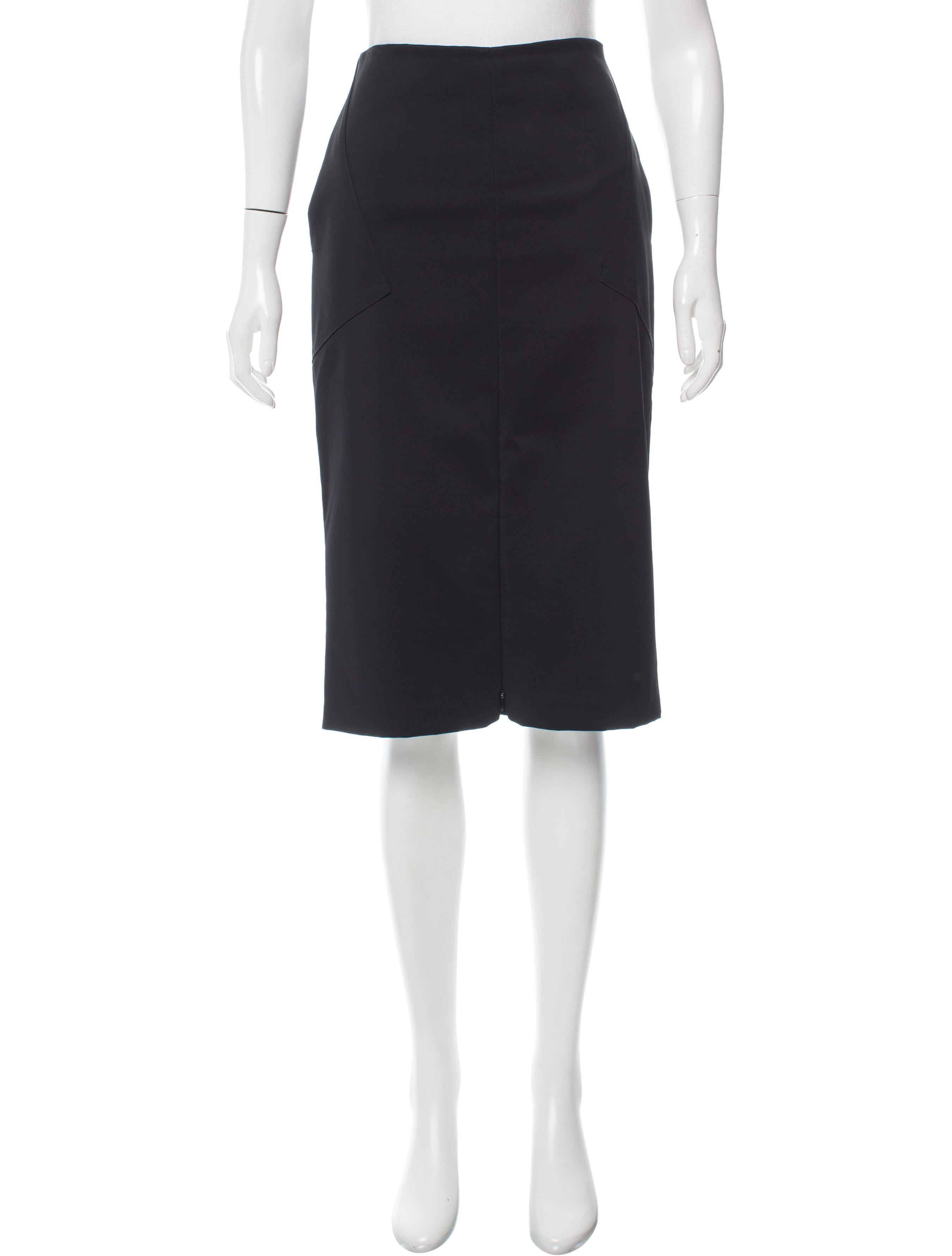 Protagonist Knee-Length Pencil Skirt - Clothing