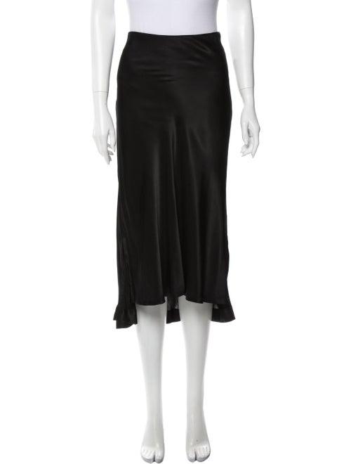 Protagonist Midi Length Skirt Black