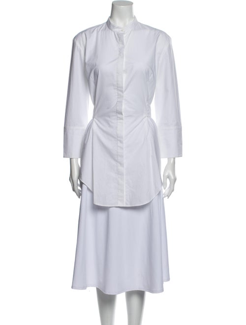 Protagonist Long Sleeve Tunic White