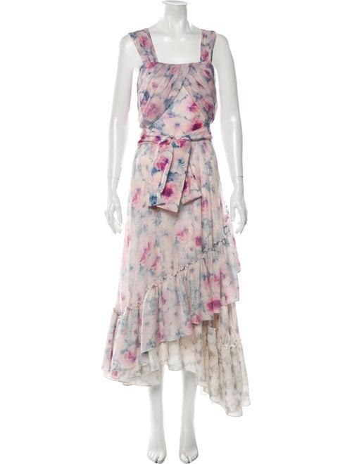 Alejandra Alonso Rojas Wool Long Dress Wool