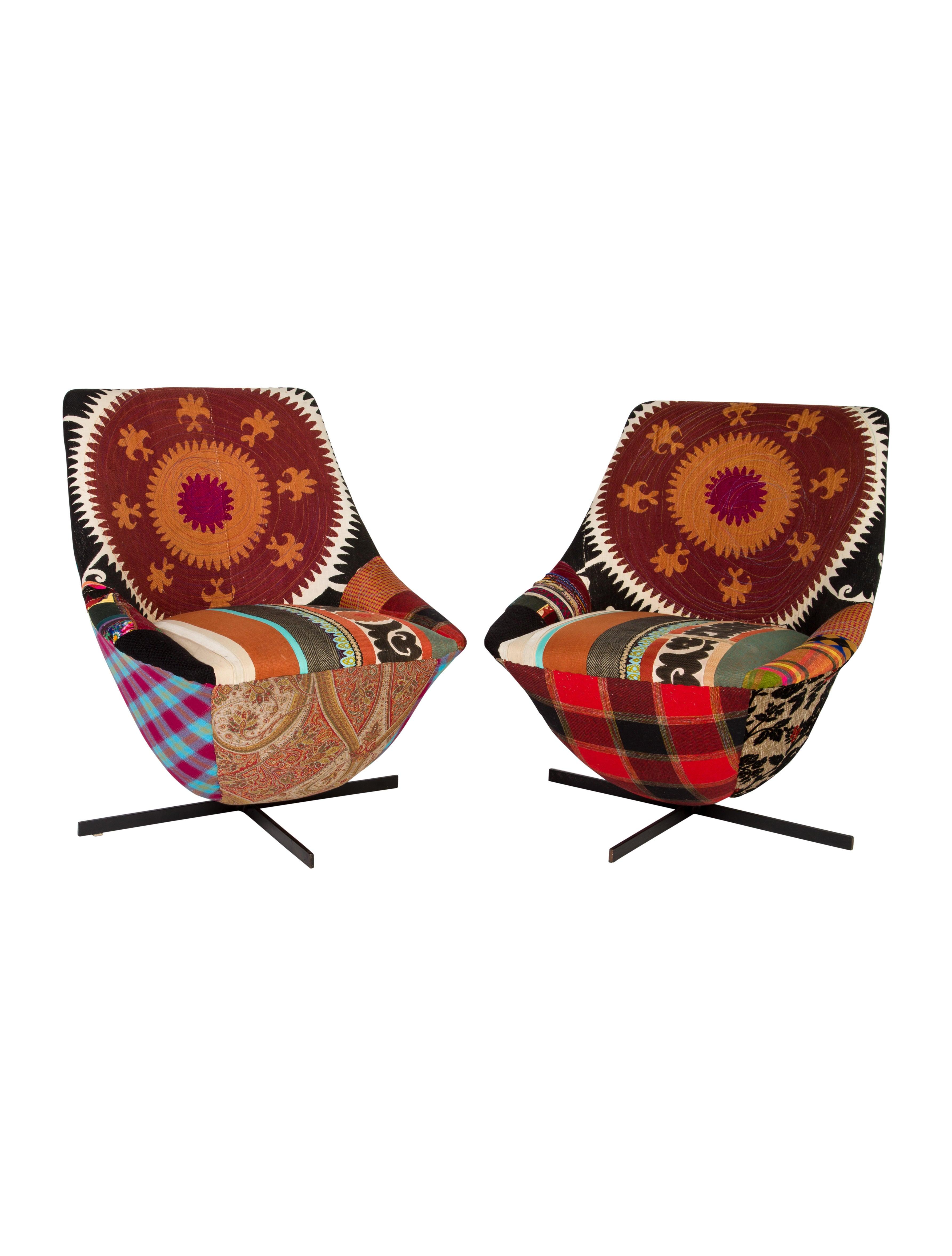 Abc Carpet Amp Home Bokja Swivel Chairs Furniture