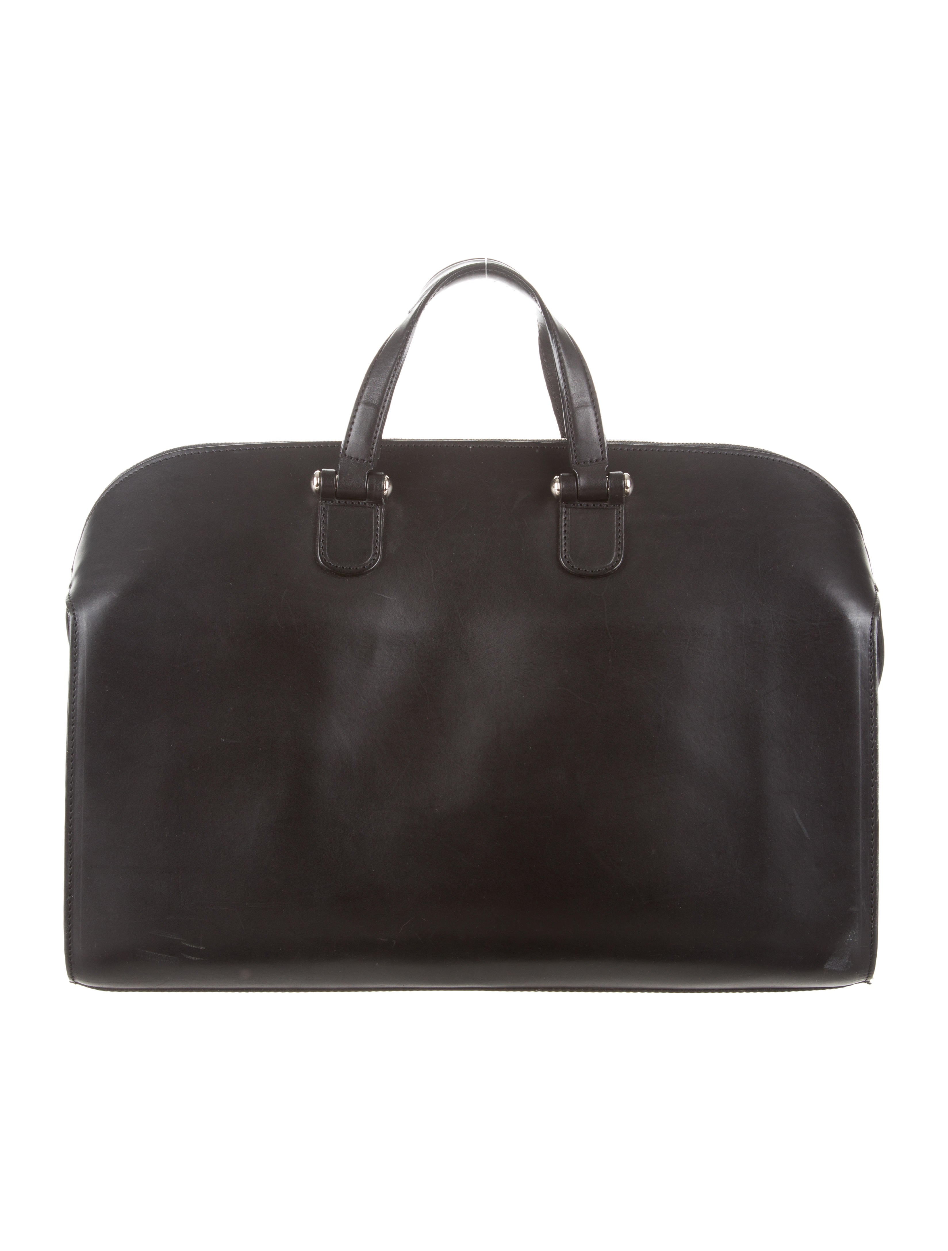 bill amberg leather duffel bag bags abg20024 the realreal. Black Bedroom Furniture Sets. Home Design Ideas