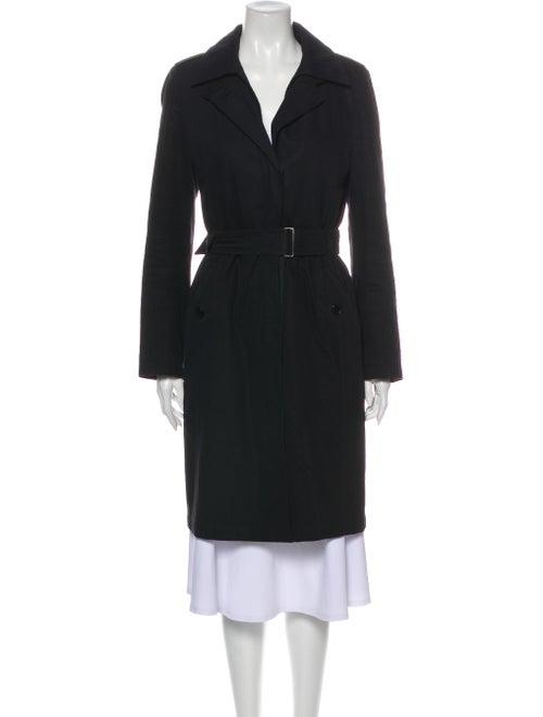 Akris x Bergdorf Goodman Trench Coat Black