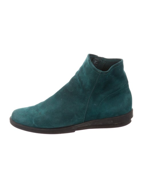 Archer Suede Boots Green