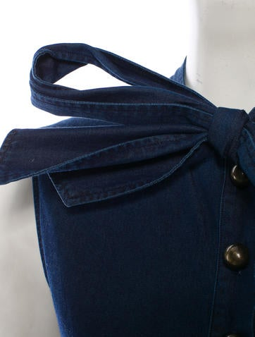 Lanvin for  Chambray Top