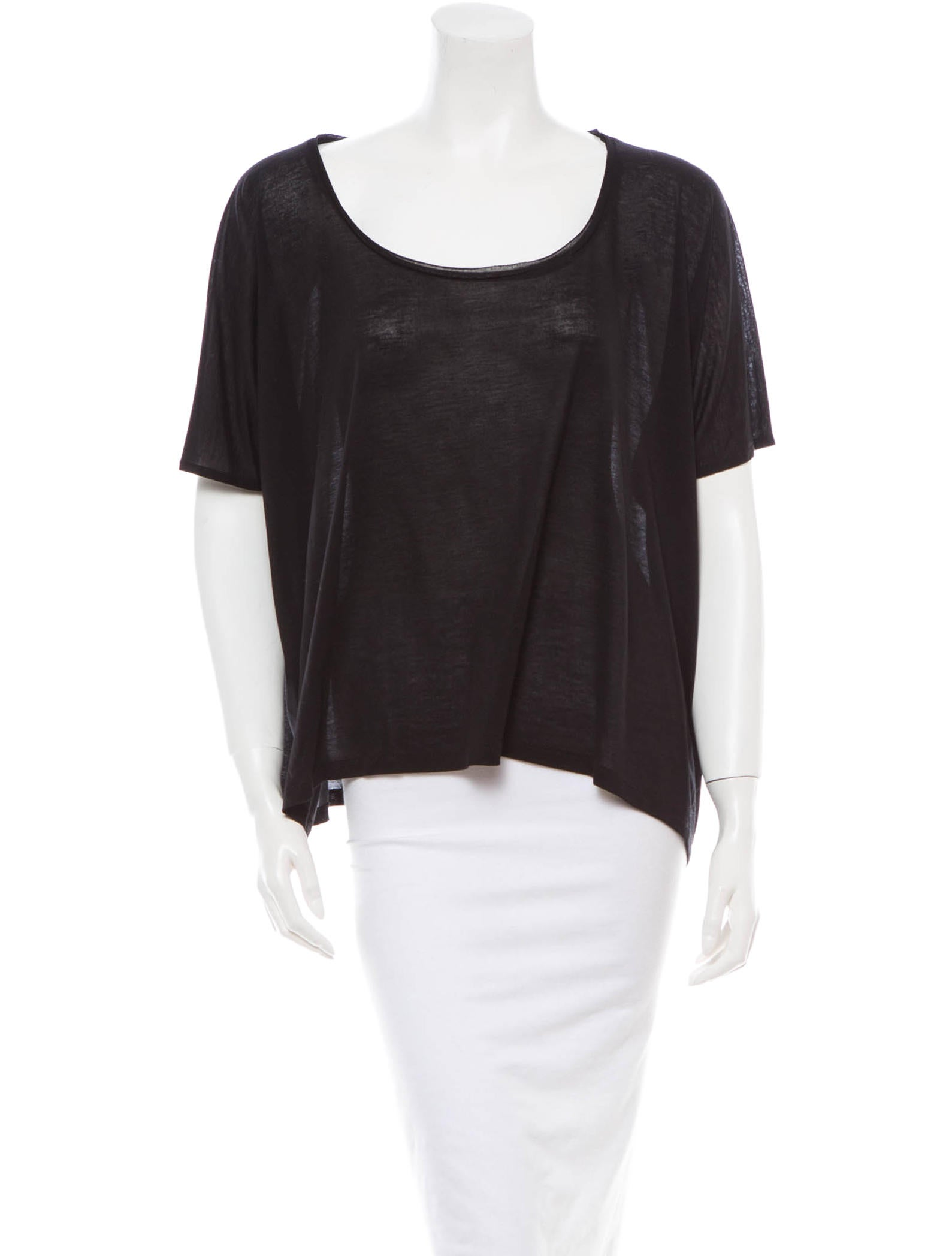 Acne Oversize T Shirt Clothing Acn21888 The Realreal