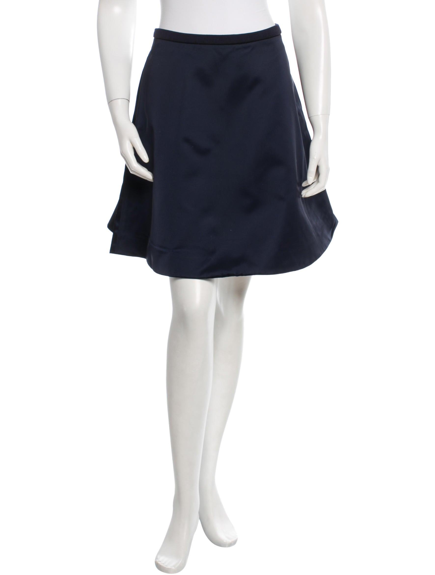 acne studios satin a line skirt w tags clothing