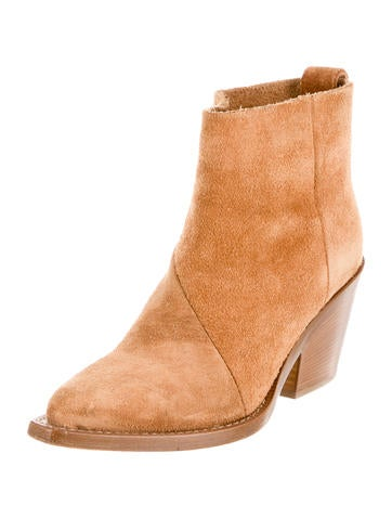 Donna Western Ankle Boots