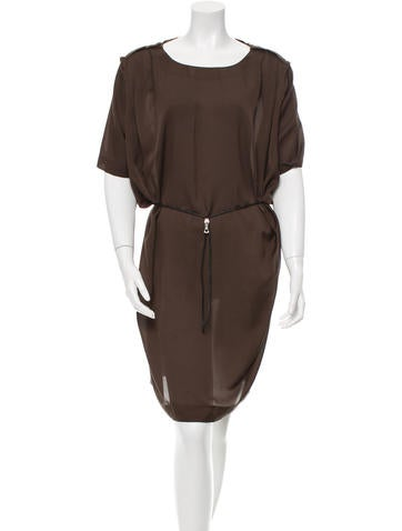 Acne Belted Mini Dress