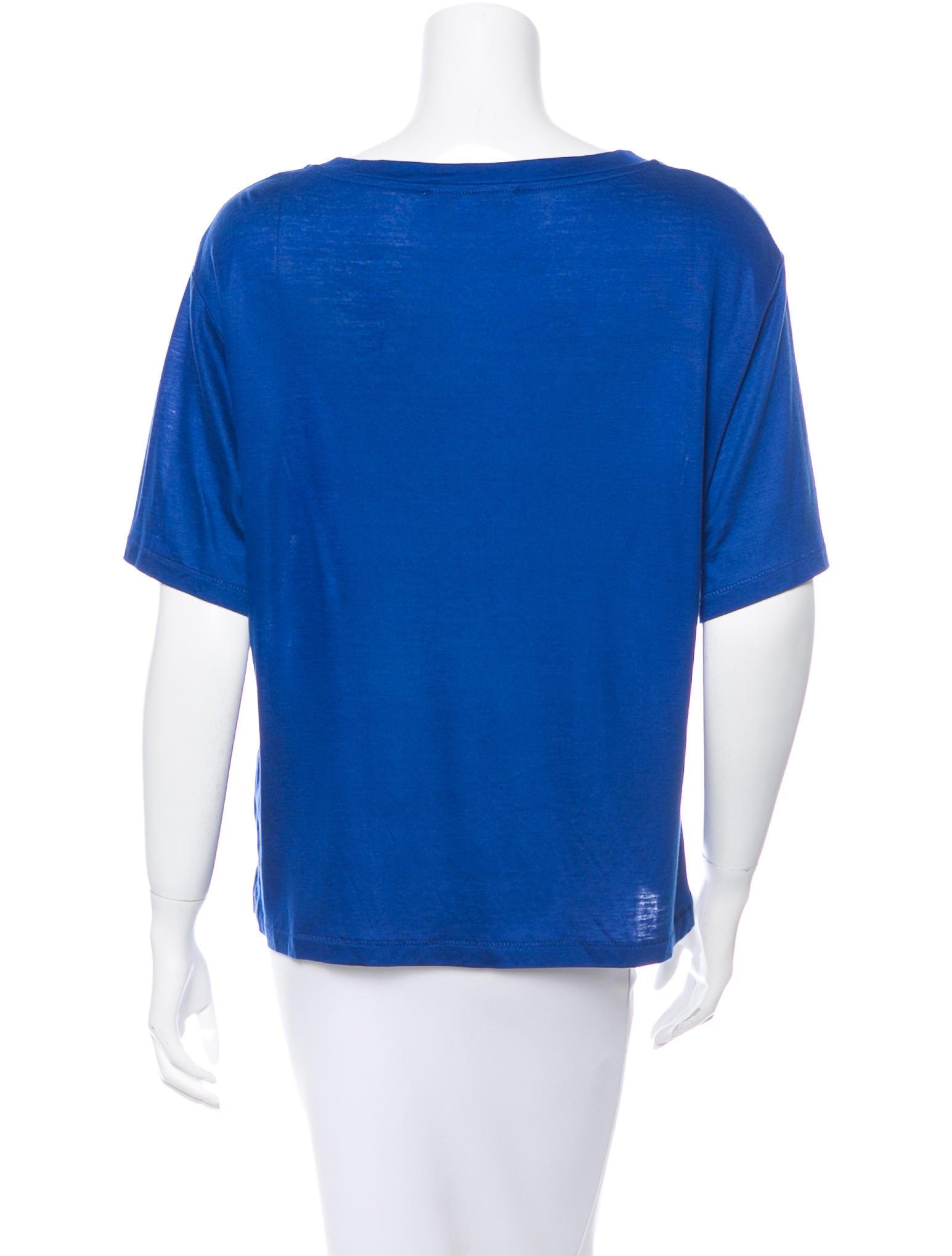 Acne Crew Neck Short Sleeve T Shirt Clothing Acn25665