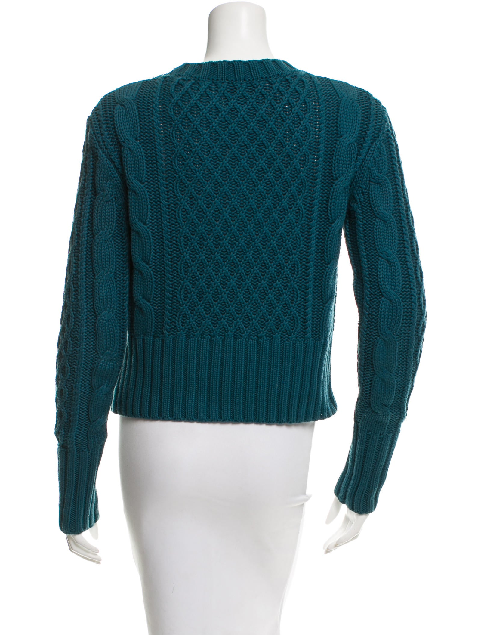 Cable Knit Crew Sweater 96