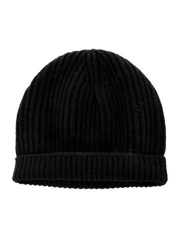 Acne Wool Rib Knit Hat None