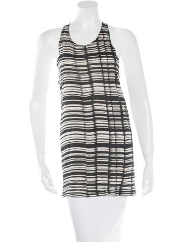 Acne Printed Sleeveless Top None
