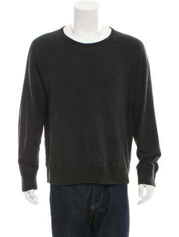 Acne College Melange Sweatshirt None