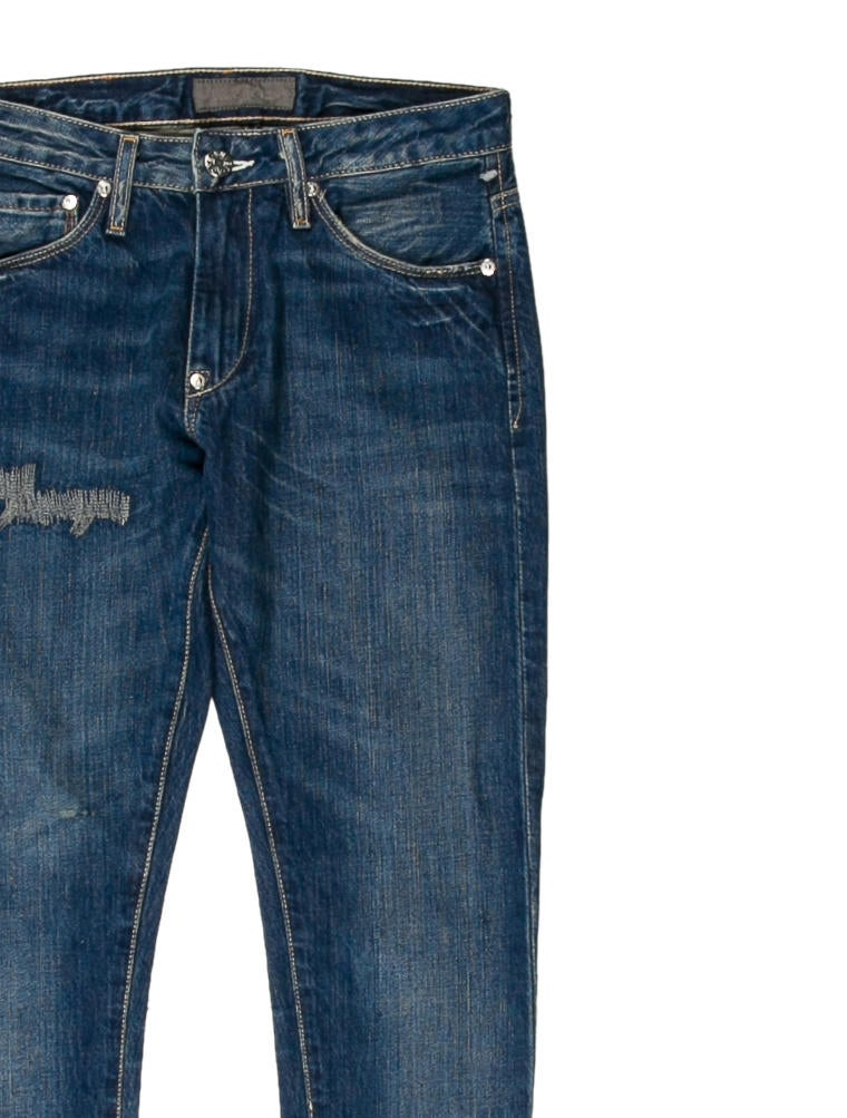 Acne Hug Skinny Jeans - Clothing - ACN26978 | The RealReal