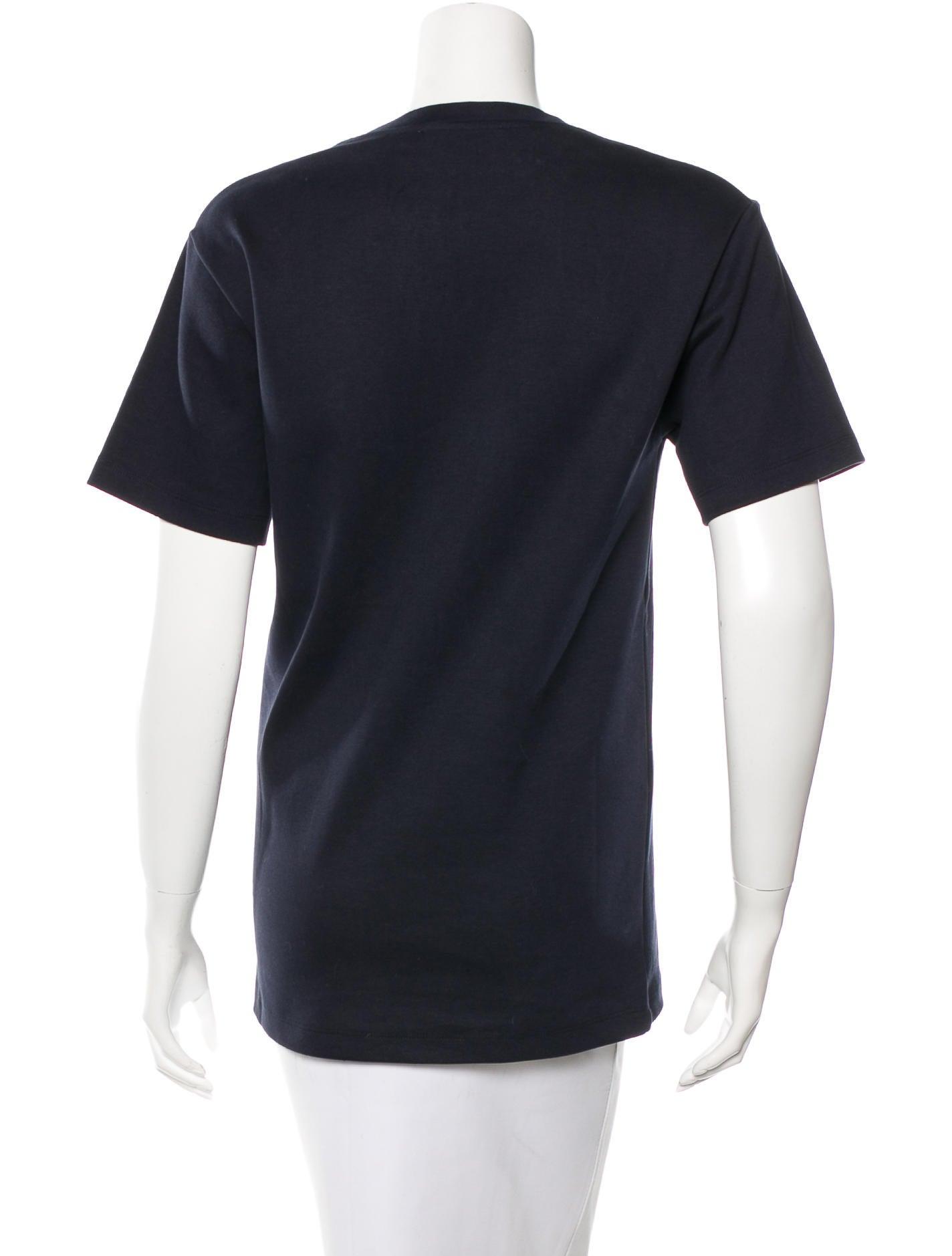 Acne Short Sleeve Crew Neck T Shirt Clothing Acn26988