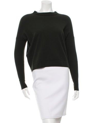 Acne Merino Wool Crew Neck Sweater None