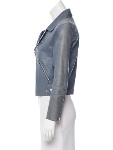 Acne Cropped Biker Jacket