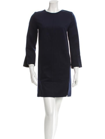 Acne Paisley Wool Dress