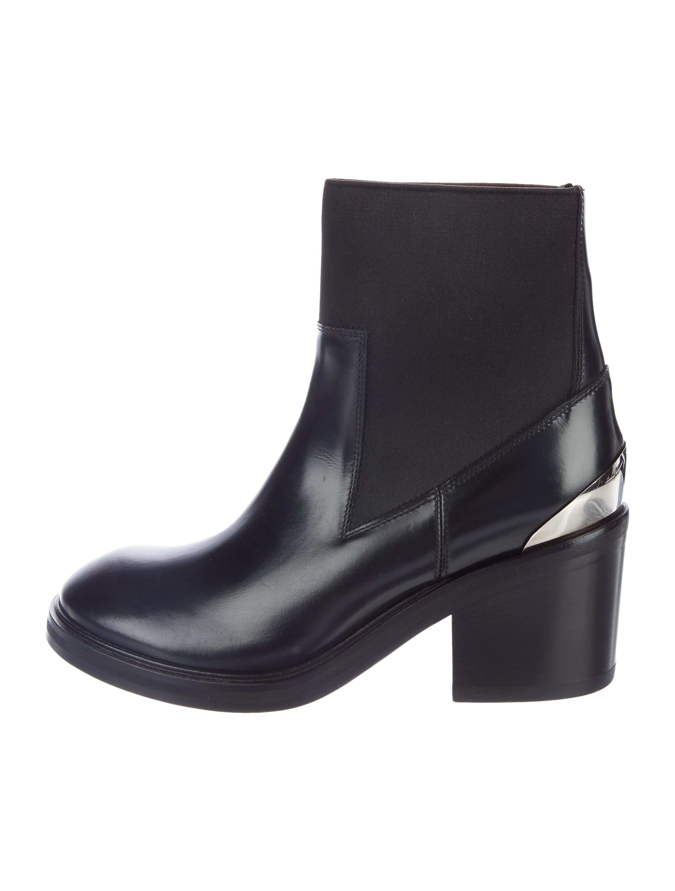 03395486f37 Acne Studios Acne Dion Leather Ankle Boots - Shoes - ACN27190