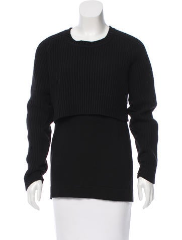 Acne Wool Knit Sweater None