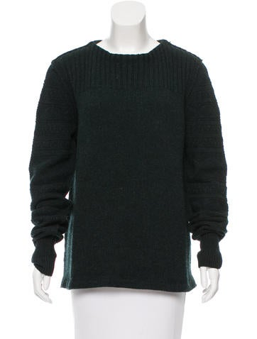 Acne Knit Long Sleeve Sweater None