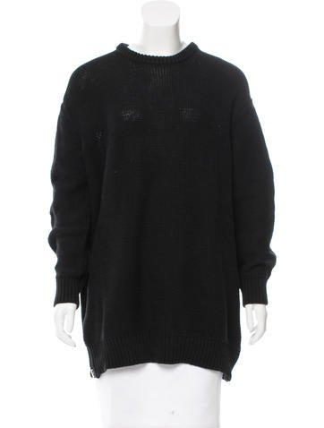 Acne Oversize Knit Sweater None