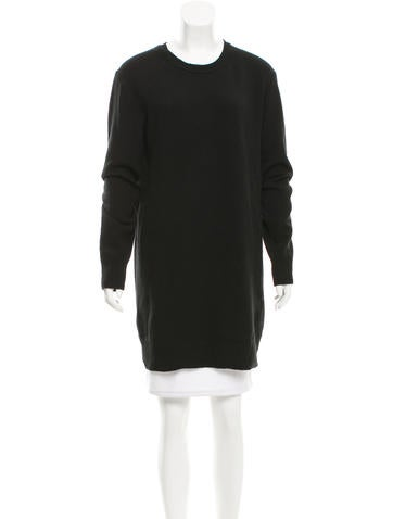 Acne Wool Oversize Sweater None