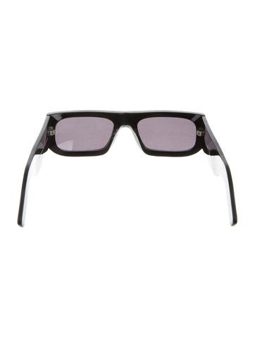 Acne Tinted Acetate Sunglasses