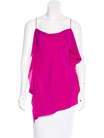 Acne Silk Draped Top w/ Tags