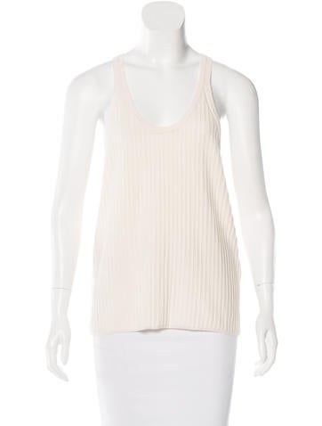 Acne Sleeveless Knit Top None