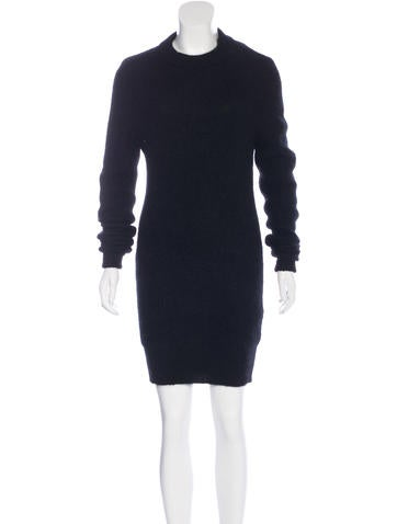 Acne Mohair-Blend Sweater Dress None