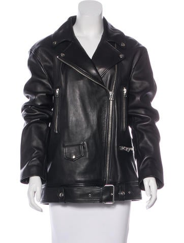 Acne 2016 Swift Moto Leather Jacket