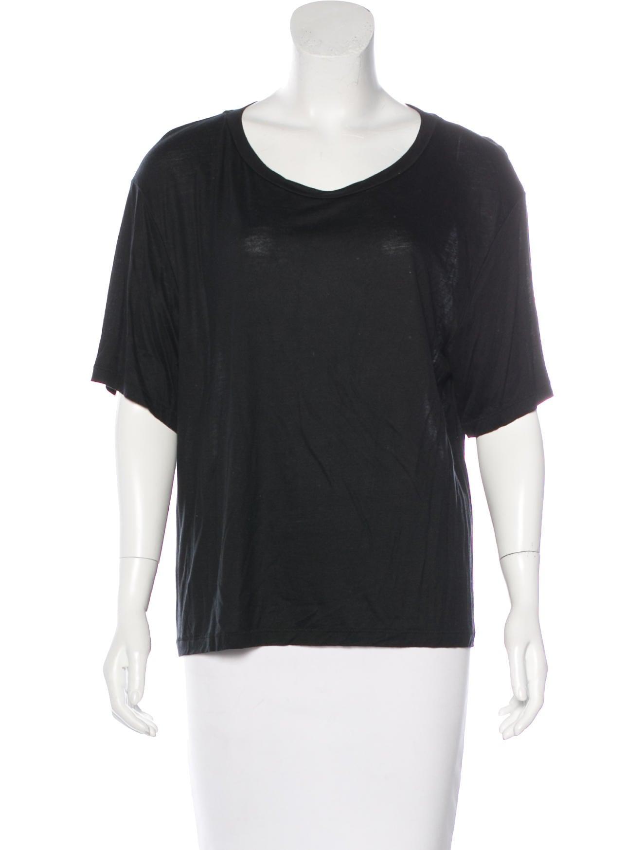 Acne Oversize Short Sleeve T Shirt Clothing Acn28630