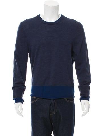 Acne Studios Wool Crew Neck Sweater None