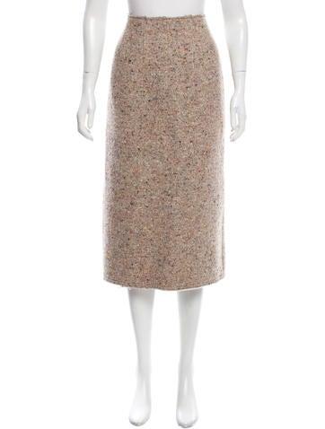 acne studios textured midi skirt clothing acn29516