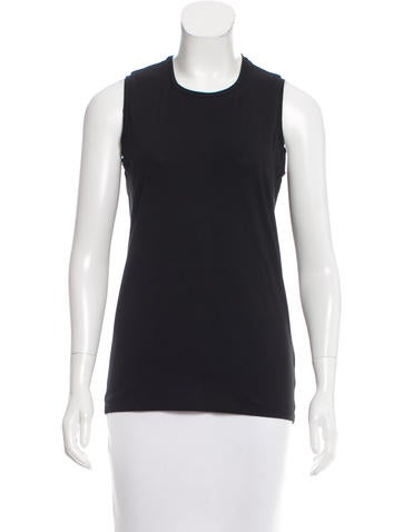Acne Studios Sleeveless Crew Neck Top None