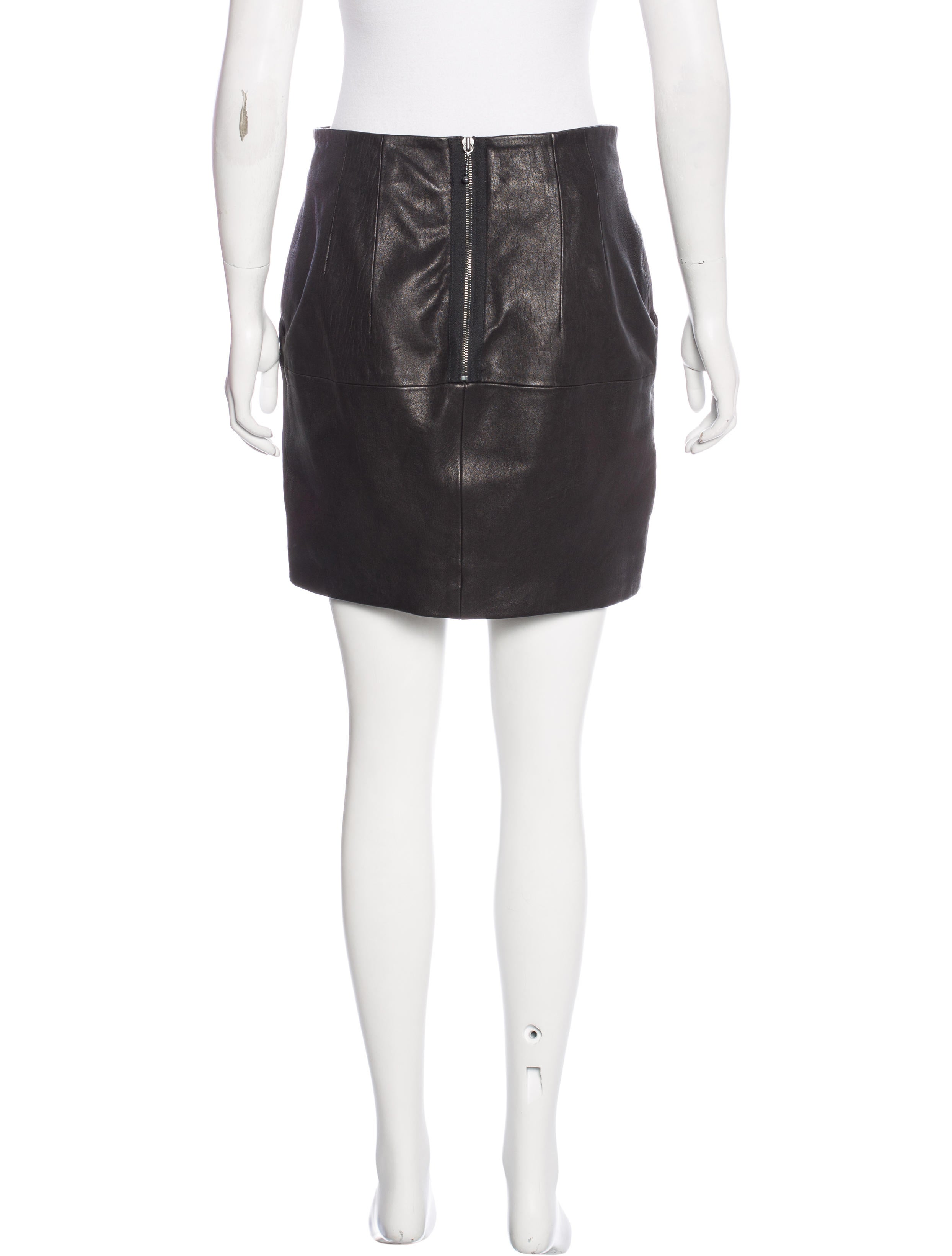acne studios leather skirt clothing acn29854